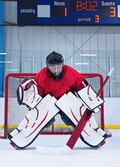 When shooting indoor sports photography such as basketball, hockey, boxing, water sports and so forth, there are two possible approaches to getting sharp images at the peak of the action. Hockey Goalie, Hockey Mom, Ice Hockey, Hockey Stuff, Hockey Drills, Basketball Goals, Soccer, Buy Basketball, Futbol