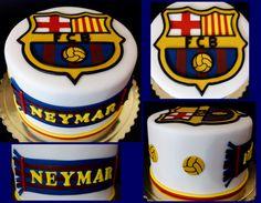 torta, cake FC Barcelona