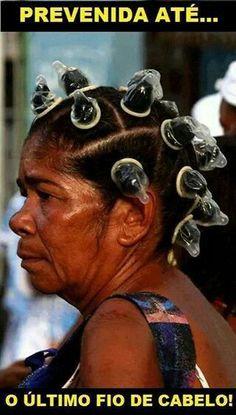 Prevenida até o último fio de cabelo