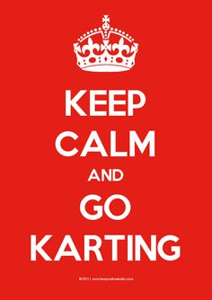 Keep Calm and Go Karting: that's what we say! And don't forget to go bowling, dancing, and eat some delicious food at our Grandstand. We have it all. Check out our Indoor Karting facility at http://www.idriveracing.com