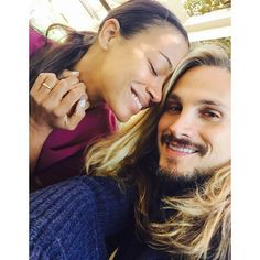 Pin for Later: Zoe Saldana and Marco Perego Are So Cute Together, It Actually Hurts  Marco snapped a selfie of the couple on Zoe's first Mother's Day in May 2015.