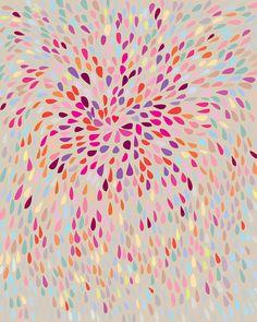 Abstract Art Print & The Change 8 x 10 Limited por Aeropagita