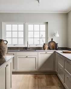 Reflecting the very essence of their brand, Swedish Kitchen Company Nordiska Kök have created the Nordic Kitchen. Inspired by the bright . Swedish Kitchen, Nordic Kitchen, Classic Kitchen, Farmhouse Style Kitchen, Timeless Kitchen, Modern Shaker Kitchen, Farmhouse Kitchens, Swedish Home Decor, Bungalow Kitchen