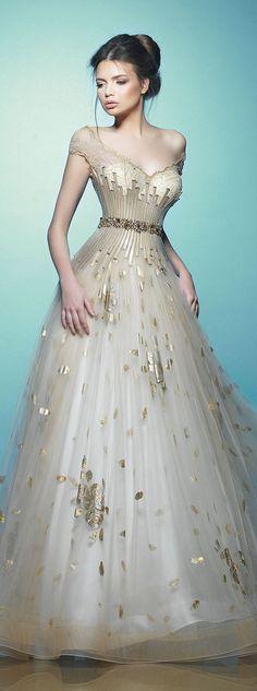 Glamour Gowns / karen cox. Saiid Kobeisy RTW Spring/Summer 2015