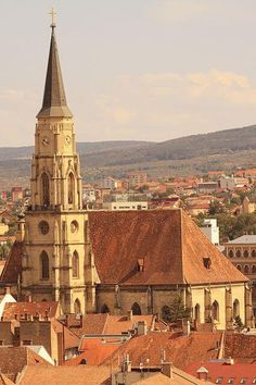 Michael's Church - Cluj, Romania meeting point during my university years :-) Michael Church, Saint Michael, Places Around The World, Around The Worlds, The Beautiful Country, Kirchen, Eastern Europe, Places To See, Travel Inspiration