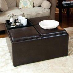 5 Piece Coffee Table And Ottoman Set