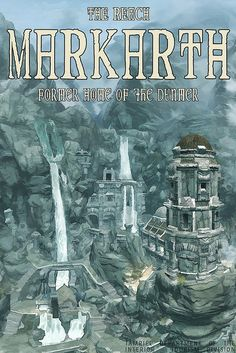 markarth, skyrim by scifitographer, via Flickr