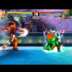 photo: This is a real game: Street Fighter 4