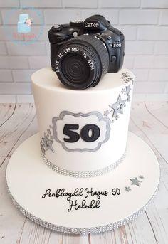 Camera Cakes, Birthday Cake, Desserts, Tailgate Desserts, Deserts, Birthday Cakes, Postres, Dessert, Cake Birthday