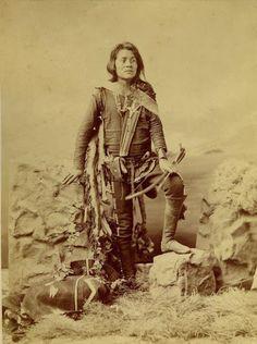 Manuelito Segundo (the son of Chief Manuelito and Juanita) - Navajo – 1874