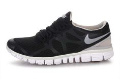 low priced 8c0c1 ba0e3 Nike-Free-3.0-V3-Black-Grey-logo-Running-