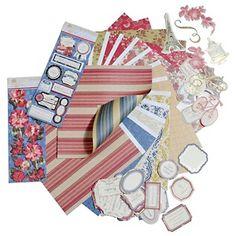 Anna Griffin® Fleur Rouge Designer Kit at HSN.com.