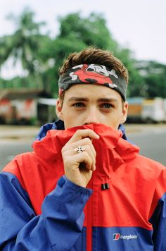 Finn Harries, photographed by Harry Crowder somewhere in the heart of India.