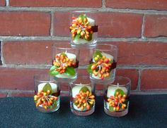 Fall Wedding Decoration / Wedding Votive by CarolesWeddingWhimsy, $24.99, set of 6, Fall Berry Votive Candle Holder - no, they are not copper, but they sure would look nice with copper wedding decoration.  Check it out here https://www.etsy.com/listing/164046366/fall-wedding-decoration-wedding-votive