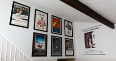 Some great #Movieposters displayed in our our #Posterframes. Thanks for sharing Alan!!! Get your frames at www.SpotlightDisplays.com Movie Poster Frames, Movie Posters, Custom Framing, Rose, You Got This, Gallery Wall, Display, Decor, Cairo
