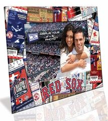 Boston Red Sox 4x6 Picture Frame - Ticket Collage Design $9.90