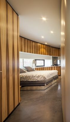 Architecture Beast: Round house design: A dog friendly home by 123DV | #modern #architecture #house #home #beautiful #contemporary #villa #round #circular #interior #design #bedroom #bed