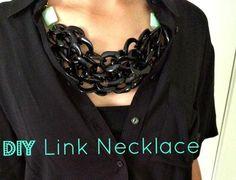 DIY Jewelry DIY Necklace DIY Chain Link Necklace
