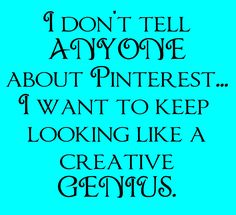 ok yes it's true... sometimes my ideas are pinterst inspired but I don't give pinterest any credit!