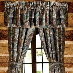 Stop by Camo Trading today and take a look at our wonderful selection of camouflage curtains, including this Realtree Timber Valance! Camo Curtains, Rod Pocket Curtains, Window Curtains, Valance, Camo Bedding, Rustic Bedding, Rustic Furniture Stores, Log Furniture, Wood River