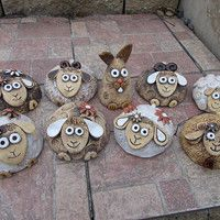 Clay Projects, Projects For Kids, Sheep Art, Ceramic Animals, Beach Ideas, Art Education, Easter, Pottery, Stars