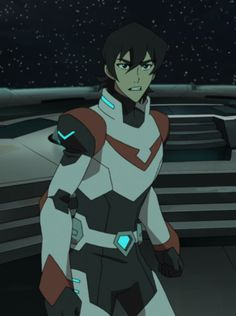 Keith the Red Paladin of Voltron getting protective from Voltron Legendary Defender