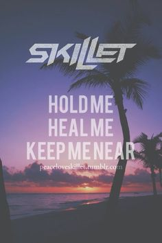 """""""Hold me, Heal me, Keep me near,"""" --Skillet; Rise -- Another one of my favorite worship songs! Christian Rock Bands, Christian Love, Christian Music, Skillet Lyrics, Skillet Band, Rock Hits, We Will Rock You, Music Pics, Pop Punk"""