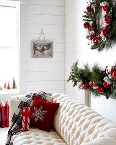 Shop Classic Red & Green Garland at Horchow, where you'll find new lower shipping on hundreds of home furnishings and gifts. Spode Christmas, Christmas Tree, Red Green, Home Furnishings, Garland, Furniture Design, Wreaths, Entertaining, Pure Products