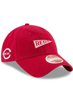 timeless design 97290 25461 New Era Cincinnati Reds Mens Red Sided Mascot 9TWENTY Adjustable Hat Reds  Baseball, Baseball Gear