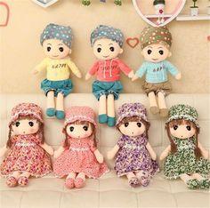 Hot Anime Doll Toy Kids Gift Birthday Cartoon Baby Boy Girls