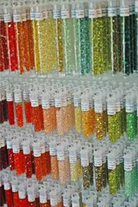 Beading Wire & Thread Diameters for Seed Beads