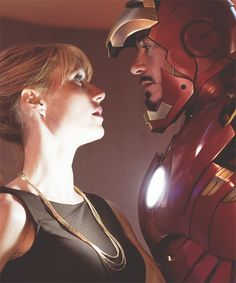 I love Pepper and Tony <3