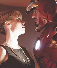 Pepper Potts & Iron Man