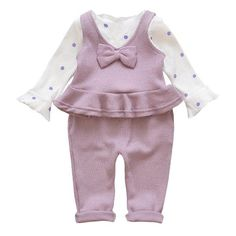 0546b500e0 Ruffles Spring Girls Suit Long Sleeve Tops + Pants Clothing Set Tracksuits  For Girls 1-