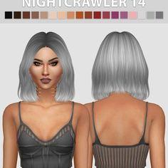 Hair The Sims Criador: Hallowsims – Fashion The Sims 4 Cabelo The Sims Criador: Hallowsims – Moda The Sims 4 Hair The Sims 4, The Sims 4 Skin, The Sims 4 Pc, Sims 4 Cas, My Sims, Sims Cc, Los Sims 4 Mods, Sims 4 Game Mods, Sims Baby