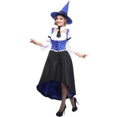 adults witch costume 180 brl liked on polyvore featuring costumes halloween halloween costumes multicolor witch costume black witch costum - Salem Witch Halloween Costume