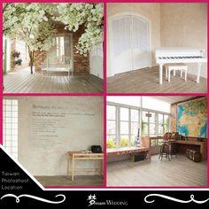 Taiwan Pre-wedding Promotion photoshoot venue. Dream wedding boutique singapore top bridal wedding planner. Korean style designed rooms. For more info, visit www.dreamwedding.com.sg