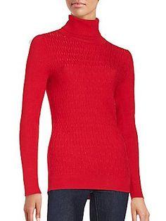 Calvin Klein Turtleneck Long Sleeve Top -