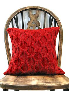 Ravelry: Lazoretto Cushion pattern by Jeanette Sloan
