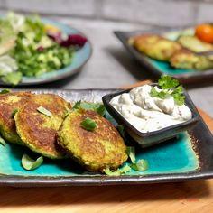 Tip na výborný oběd bez masa: Brokolicové placky s tofu krok za krokem | Vaření.cz Tofu, French Toast, Breakfast, Morning Coffee