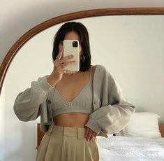 Mode Outfits, Fashion Outfits, Womens Fashion, Cute Casual Outfits, Pretty Outfits, Look Fashion, Aesthetic Clothes, Spring Outfits, Ideias Fashion