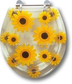 70 ideas bath room themes ideas sunflower for 2019 Sunflower Bathroom, Sunflower Home Decor, Sunflower Room, Sunflower Kitchen, Butterfly Bathroom, Sunflower Print, Tile Tub Surround, Room Accessories, Bedroom Themes