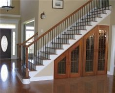Something like this under basement stairs...dog kennel maybe?