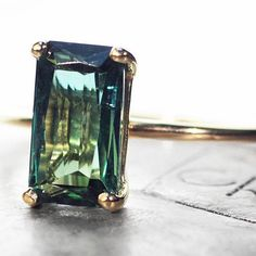 The ChincharMaloney green tourmaline ring. chincharmaloney.com