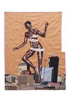 Billie Zangewa is a visual artist that has exhibited her silk tapestries all over the world and continues to do so. She lives and works in Johannesburg. Read more about her and her work on Embellished Talk.
