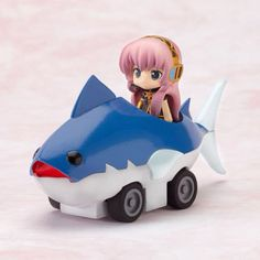 Vocaloid Luka and the Tuna Mobile!! Chibi action figure