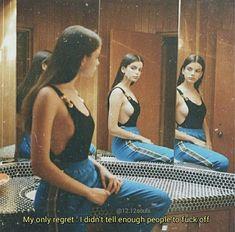 three way mirrior< three different poses Citations Tumblr, Frases Tumblr, Tumblr Quotes, Bitch Quotes, Sassy Quotes, Mood Quotes, Qoutes, Funny Quotes, Baddie Quotes