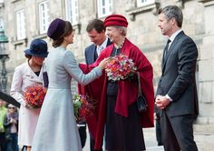 3 October 2017 - Danish Royal Family attend the opening of the parliament