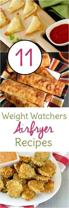 Try these Weight Watchers Air Fryer recipes with Smartpoints already calculated!
