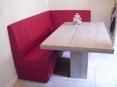 Meubelmaatwerk Company is dè specialist in kwalitatieve eetkamerbanken Restaurant Layout, Dining Area, Table, Furniture, Home Decor, Interior Design, Home Interior Design, Desk, Tabletop